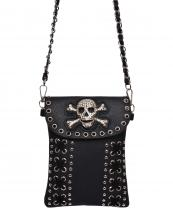 2030SK(BK)-wholesale-messenger-bag-skull-bone-rhinestones-studs-silver-faux-leatherette-strap-stitches-western(0).jpg