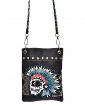2030SUKG(BK)-wholesale-messenger-bag-skull-indian-chief-headdress-embroidery-star-floral-rhinestone-alligator(0).jpg