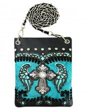 2030W114LCR(TQ)-wholesale-mini-messenger-bag-cross-wings-tooled-cut-out-rhinestone-silver-gold-stud-chain-western(0).jpg