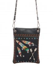 2030W123AR(BK)-wholesale-mini-messenger-bag-feather-arrow-embroidered-multicolor-studs-rhinestone-turquoise-western(0).jpg