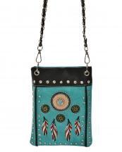 2030W148(TQ)-wholesale-mini-messenger-bag-dreamcatcher-feather-concho-turquoise-rhinestone-stud-chain-western-(0).jpg