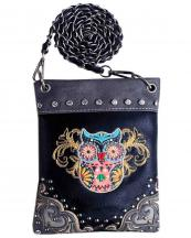 2030W153(BK)-wholesale-mini-messenger-bag-owl-embroidered-rhinestone-stud-chain-western-multi-color-animal(0).jpg