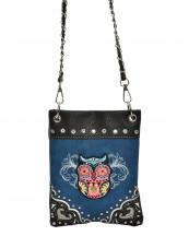 2030W153(BL)-W26-wholesale-mini-messenger-bag-owl-embroidered-rhinestone-stud-chain-western-multi-color-animal(0).jpg