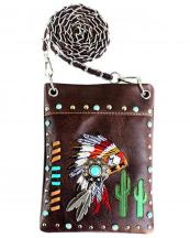2030W179(BR)-wholesale-mini-messenger-bag-native-american-indian-chief-headdress-rhinestone-cactus-feather(0).jpg