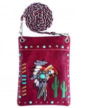 2030W179(WN)-wholesale-mini-messenger-bag-native-american-indian-chief-headdress-rhinestone-cactus-feather(0).jpg