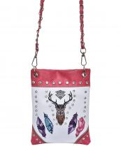2030W199(BGHPK)-wholesale-messenger-bag-tribal-deer-head-feather-rhinestone-mini-crossbody-western-faux-chain-strap(0).jpg