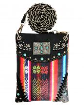 2030W210(BK)-wholesale-cross-body-bag-messenger-bag-rhinestone-magnetic-leather-aztec-turquoise(0).jpg