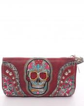 2062W22SUKB(RD)-wholesale-sugar-skull-wallet-leatherette-embroidered-floral-studs-zipper-wristlet-strip(0).jpg