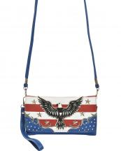 2066AE(NV)-wholesale-wallet-mini-messenger-bag-crossbody-american-flag-usa-stars-stirped-eagle-flap-wristlet(0).jpg