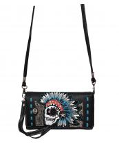 2066SUKG(BK)-wholesale-wallet-mini-messenger-bag-skull-headdress-indian-rhinestone-studs-silver-western-alligator(0).jpg