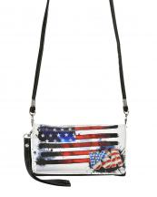 2066USA(BK)-wholesale-wallet-mini-messenger-bag-crossbody-american-flag-usa-stars-stirped-flap-wristlet-lurex-(0).jpg