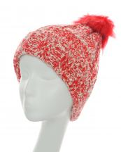 300292(RD)-wholesale-knit-beanie-stretch-fit-two-tone-warm-acrylic-fur-pompom(0).jpg