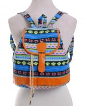 3924(MUL)-wholesale-backpack-aztec-canvas-fabric-bag-multicolor-flap-leatherette-belt-buckle-drawstring(0).jpg
