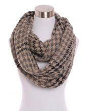 500311(BK)-wholesale-houndstooth-plaid-infinity-scarf-multi-color-knitted-acrylic(0).jpg