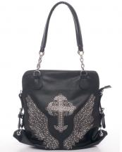 6072(BK)-wholesale-handbag-leatherette-rhinestone-cross-angel-wings-chain-handles-buckles(0).jpg