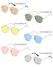 711026(SET-12PCS)-wholesale-sunglasses-aviator-pilot-light-gold-metal-frame-temple-colored-lens-uva-uvb-block-uv400(0).jpg