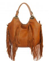 80766(BR)-wholesale-handbag-faux-leather-leatherette-fringe-gold-metal-(0).jpg