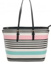 87080(PKMT)-wholesale-handbag-tote-stripe-multicolor-leatherette-faux-leather-belt-buckle-fashion(0).jpg