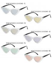 8EYED11036(SET-12PCS)-wholesale-sunglasses-cat-eye-clear-frame-black-temple-mirror-lens-uva-uvb-block-uv400(0).jpg