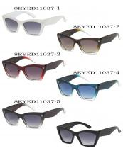 8EYED11037(SET-12PCS)-wholesale-sunglasses-rectangle-clear-colored-frame-gradient-lens-uva-uvb-block-uv400(0).jpg