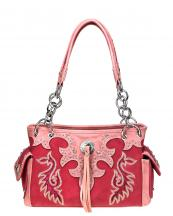 946G-8085(RD)-embroidered-silver-concho-tassle-saddle-stitch-zipper-closure-pocket(0).jpg