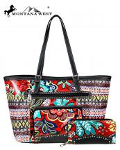 ABSS012W(RD)-MW-wholesale-handbag-wallet-set-bling-belt-buckle-faux-leatherette-floral-tribal-rhinestone-stud-pocket(0).jpg