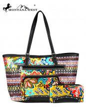 ABSS012W(TQ)-MW-wholesale-handbag-wallet-set-bling-belt-buckle-faux-leatherette-floral-tribal-rhinestone-stud-pocket(0).jpg
