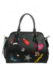 AJ091(BK)-wholesale-handbag-leatherette-fashion-love-heart-flag-bottle-cap-floral-lips-star-rhinestone(0).jpg