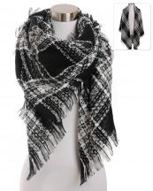 AO503(BK)-wholesale-scarf-wrap-shawl-checkered-plaid-lurex-knitted-fringe-oversize-versatile-acrylic-square-(0).jpg