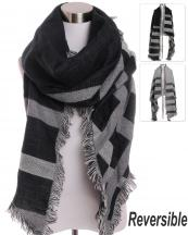 AO517(BK)-wholesale-scarf-wrap-shawl-plaid-three-tone-knitted-fringe-parallelogram-shape-oversize-reversible(0).jpg