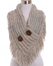 AO521(GYPK)-wholesale-scarf-shorty-poncho-botton-collar-marled-knit-two-tone-tassel-fringe-acrylic-one-size(0).jpg