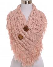 AO521(PKRPK)-wholesale-scarf-shorty-poncho-botton-collar-marled-knit-two-tone-tassel-fringe-acrylic-one-size(0).jpg