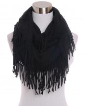 AO556(BK)-wholesale-infinity-scarf-fringe-solid-color-knitted-plain-versatile-way-wear-acrylic-(0).jpg
