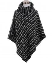 AO633(BK)-wholesale-poncho-stripe-turtleneck-black-white-trim-button-closure-versatile-polyester-one-size(0).jpg