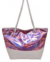 AO760(PK)-wholesale-handbag-canvas-tote-bag-hologram-metallic-cotton-reflective-braided-handle-fashion-beach(0).jpg
