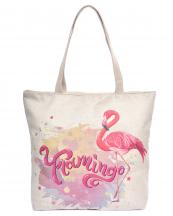 AO8037(MUL)-wholesale-tote-bag-animal-flamingo-print-typography-double-handle-solid-color-polyester(0).jpg