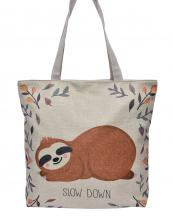 AO817(BG)-S21-wholesale-handbag-tote-beach-bag-graphic-print-cotton-canvas-sloth-lazy-days-leaf-sleep-floral-woven(0).jpg