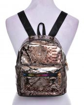 AO840(SNAKE)-wholesale-backpack-snake-animal-patent-faux-leatherette-black-nylon-strap-rainbow-zipper-gold-pocket(0).jpg