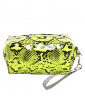 AO890(MU)-wholesale-cosmetic-pouch-bag-animal-snake-pattern-detachable-glossy-wristlet-strap-polyester(0).jpg