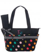 BAA3763-DOTE(BK)-D3-wholesale-diaper-bag-dot-polka-multi-changingpad-initial-embroidered-(0).jpg