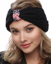 BAAC7121(BK)-wholesale-headwrap-american-flag-usa-stars-striped-kniited-solid-color-elastic-one-size-acrylic(0).jpg