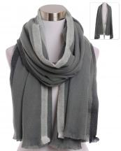 BASC7131(GY)-wholesale-scarf-two-stripe-blanket-solid-color-plain-fringe-oversized-versatile-acrylic(0).jpg