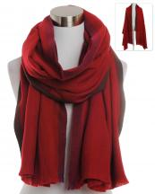 BASC7131(RD)-wholesale-scarf-two-stripe-blanket-solid-color-plain-fringe-oversized-versatile-acrylic(0).jpg