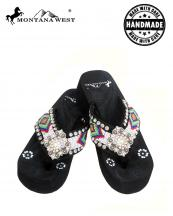 BD01S002(BK)-(SET-12PCS)-MW-wholesale-flip-flops-12pc-set-montana-west-aztec-hand-beaded-concho-rhinestone-floral-canvas-strap(0).jpg
