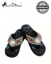 BD02S001(BK)-(SET-12PCS)-MW-wholesale-flip-flops-12pc-set-montana-west-aztec-hand-beaded-concho-rhinestone-floral-canvas-strap(0).jpg