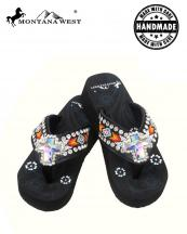 BD03S008(BK)-(SET-12PCS)-MW-wholesale-flip-flops-12pc-set-montana-west-aztec-cross-beaded-concho-rhinestone-floral-handmade-logo(0).jpg