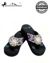 BD04S001(BK)-(SET-12PCS)-MW-wholesale-flip-flops-12pc-set-montana-west-aztec-hand-beaded-floral-concho-rhinestones-canvas-strap(0).jpg