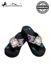 BD04S002(BK)-(SET-12PCS)-MW-wholesale-flip-flops-12pc-set-montana-west-aztec-hand-beaded-floral-concho-rhinestones-canvas-strap(0).jpg