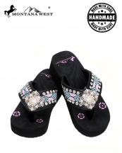 BD14S002(BK)-(SET-12PCS)-MW-wholesale-flip-flops-12pc-set-montana-west-aztec-hand-beaded-floral-concho-rhinestones-canvas-strap(0).jpg