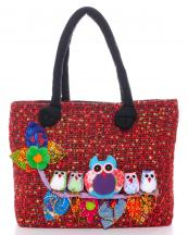 BKKB18(RD)-wholesale-fabric-woven-owl-floral-houndstooth-multi-color-patchwork-dull-bag(0).jpg